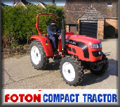 Foton tractors and machinery